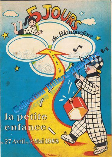 Les 5  jours de Blanquefort - du 27 avril au 2 mai 1988 -
