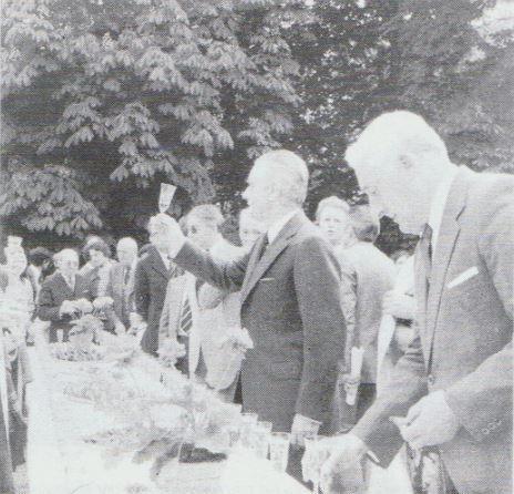 INAUGURATION DU STADE de FONGRAVEY EN 1978.
