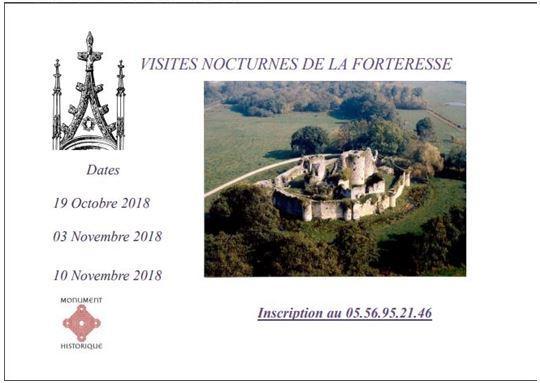 VISITES NOCTURNES DE LA FORTERESSE