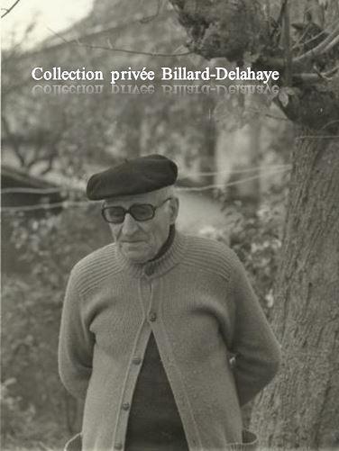 ALBERT 80 ans en 1976 Cachac-Blanquefort (rescapé du Chemin des Dames). Ph. G. Lemoine.
