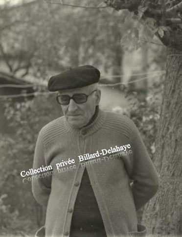 ALBERT BILLARD ANCIEN COMBATTANT 14/18 CLASSE 1916