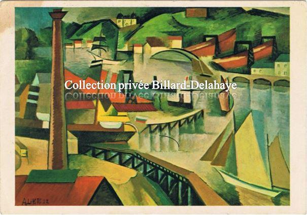 André LHOTE (1885-1962). Etudes aux Beaux-Arts de Bx.