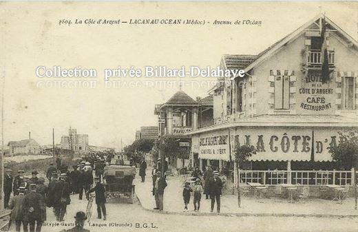 LACANAU-OCEAN (Médoc) - La Côte d'Agent. VERS 1915.