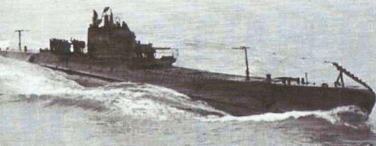 Atlantique nord en juin 1942, le sous-marin BARBARIGO.
