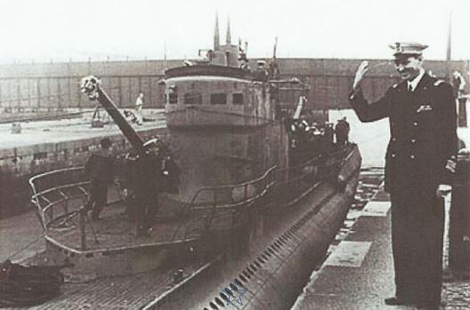 BORDEAUX en  oct. sept. 1941, retour du BARBARIGO.