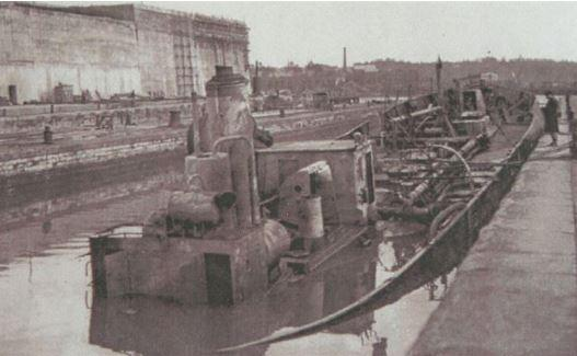Pendant la retraite des allemands -  été 1944