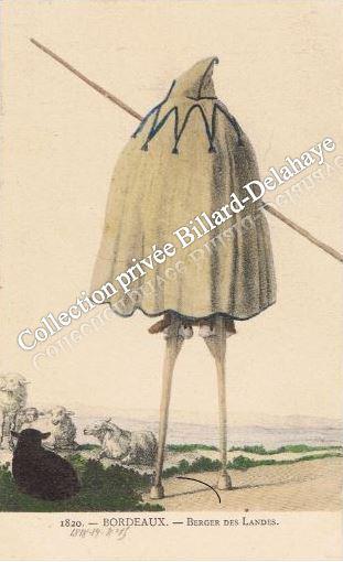 1820 -  BORDEAUX - BERGER DES LANDES.
