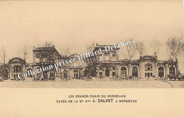 CALVET- HANAPPIER-PEYRELONGUE, 75-81 Cours du Médoc BORDEAUX.