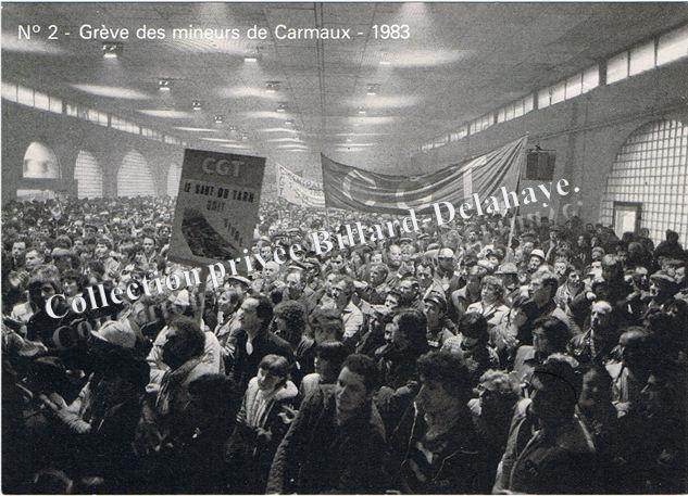 Carmaux 19ème jour de grèves salle de la Venerie.