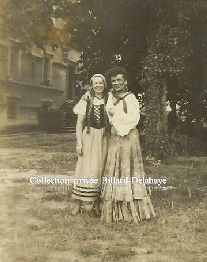 CARMEN 10.08.1942 - Interprété par Lucienne Anduran et Anne Chantel