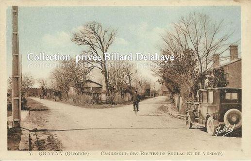 GRAYAN  (Gironde). Village natal du mercenaire BOB DENARD.