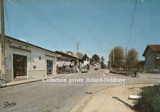 CACHAC (Gironde) - CENTRE BOURG AVANT 1970.
