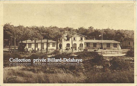 SOULAC (33) Centre de vacances de la Sté des PILES WONDER.