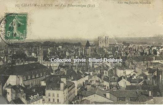33 - CHALON sur SAONE 1914   --    Edit. des Galeries Modernes.