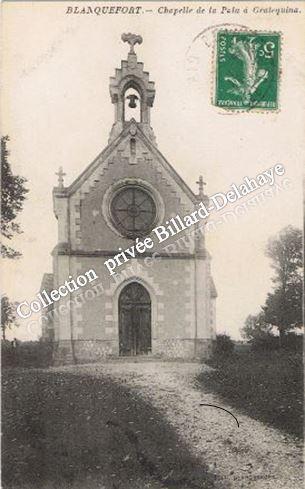 GRAT(T)EQUINA avant port de Bordeaux - CHAPELLE DE LA PALU 1900 -