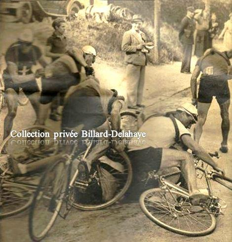 Juillet 1939 - Chute massive