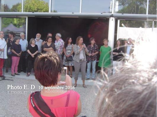 LA VACHERIE - INAUGURATION 10.09.2016.