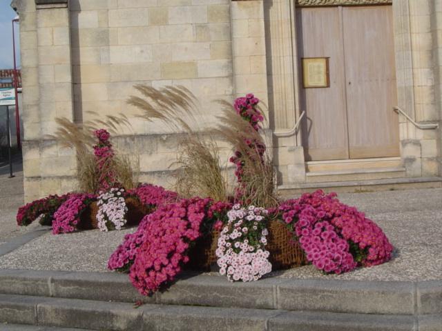 Superbe décoration florale pour la Toussaint 2012.