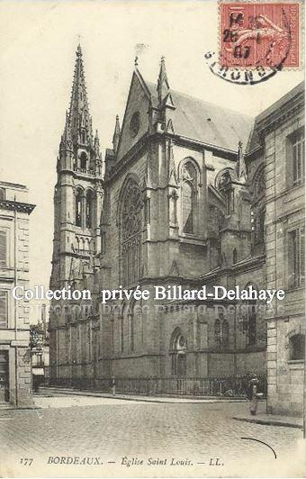 177 - EGLISE SAINT-LOUIS DES CHARTRONS. Env.1907 BELLAMY PAIMPOL