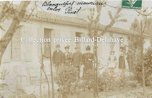 QUARTIER DE MAURIAN - BLANQUEFORT 33290-ENCLOS PINET- 07.10.1907.