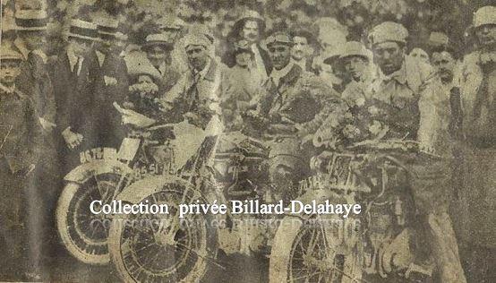Courses dans les années 1920 1925.