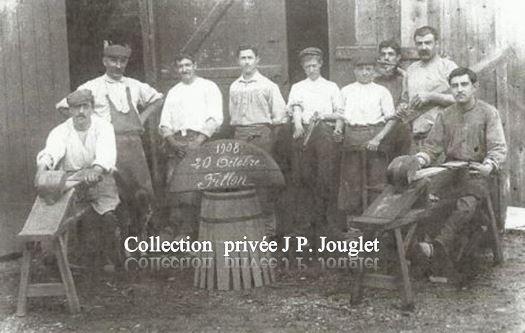 Tonnellerie de Blanquefort en 1908
