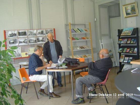 Prépartion au G.A.H.BLE du reportage de France Bleu Gironde sur Blanquefort (33)