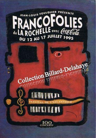 JEAN-LOUIS FOULQUIER PRESENTE FRANCOFOLIES DE LA ROCHELLE.