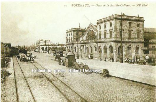 Gare d'Orléans à Bodeaux-Bastide