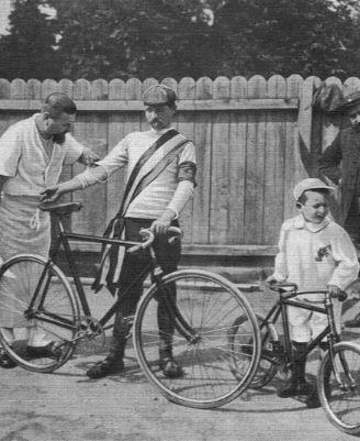 GARIN Maurice vainqueur du tour 1903, n' a pas triché.