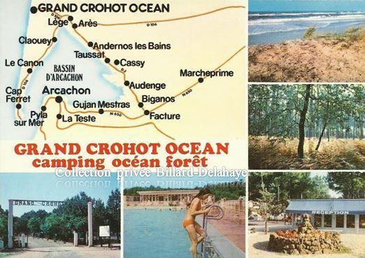 "LEGE (Gironde). ""LE GRAND CROHOT OCEAN""."