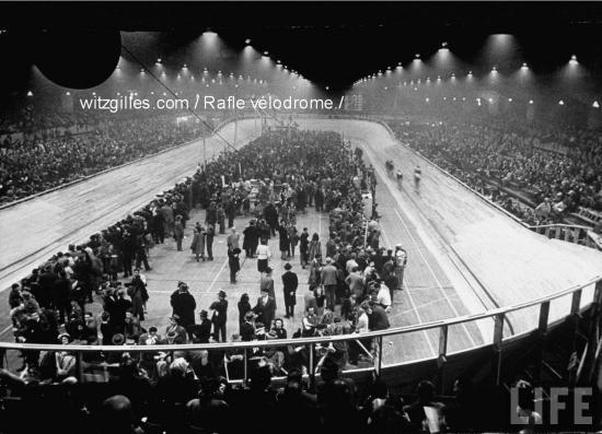 La rafle du vélodrome d'hiver 16-17 juillet 1942.