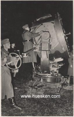 Type de matériel aux abords de Blanquefort, ici un projecteur anti aérien.