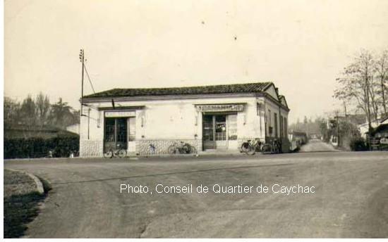 Caychac, le bureau de tabac