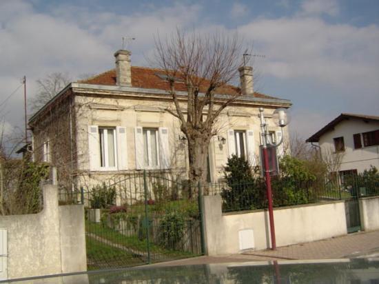 Villa Saint Hubert, construite en 1910, plans Gabriel Perrin propriètaire.