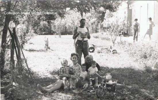 Pour Béatrice Grassigny Hébrad : Années 70, Roland, Lulu, Jeannette et les enfants.