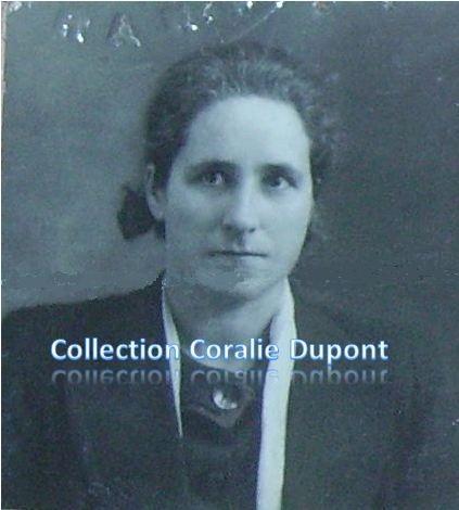 Marguerite Olivier, très jeune. Grand-mère de Nathalie Duluc