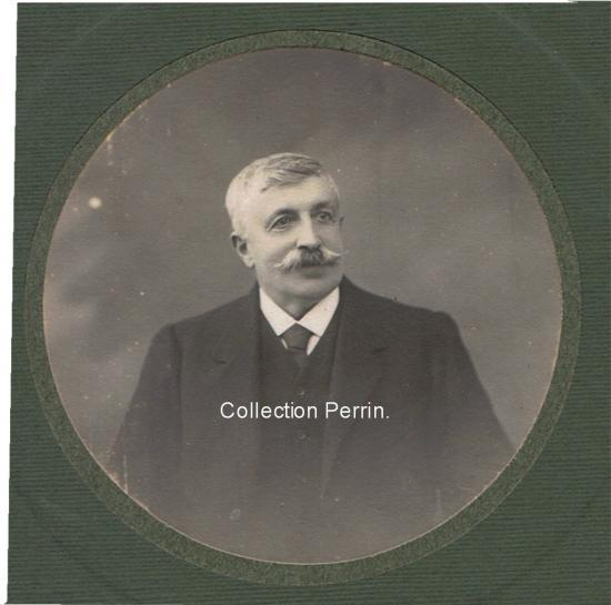 Pierre PERRIN, propriétaire du Château Grand Clapeau 1895-1905