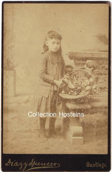 Marthe Hosteins née à Peybois. 5 ans