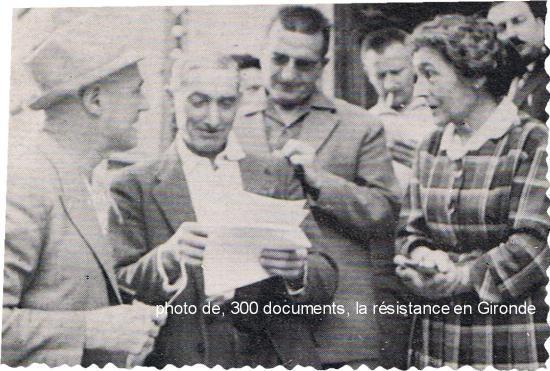 """La Réole juillet 1967, Charles TILLON est venu signer son livre""""Les F.T.P."""""""