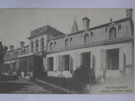 Château Cambon.