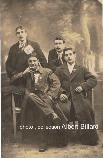 Conscrits de 1916, mauvais tirage au sort pour Albert.