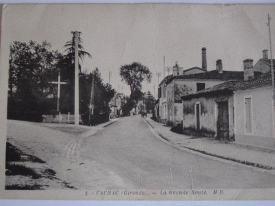 Entrée de Caychac en venant du bourg de Blanquefort.