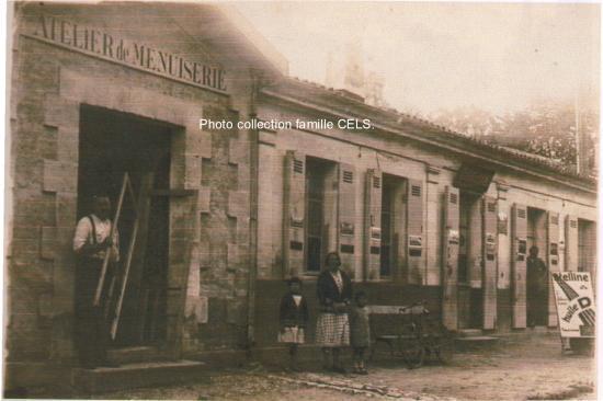 Menuiserie CELS route de Pauillac.