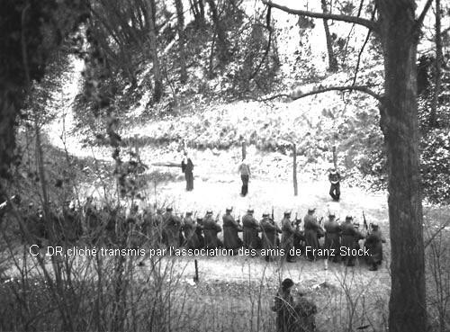 Février 1944, exécution au Mont Valérien.