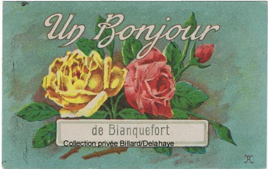 Un bonjour de Blanquefort