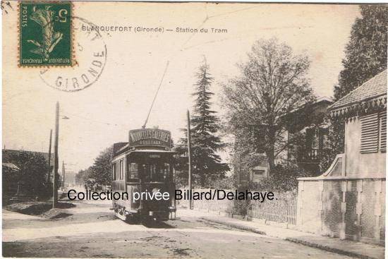 Station de tram, ligne Bordeaux-Blanquefort