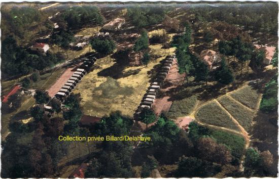 Camp de Tanaïs vue aérienne 1955
