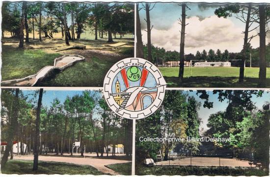 Camp de Tanaïs : Rhin-Danube 509ème en 1955