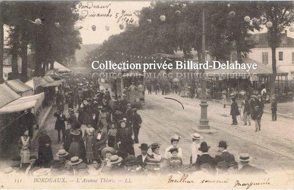 L 39 avenue thiers bordeaux dimanche 5 juin 1904 - Cabinet radiologie avenue thiers bordeaux ...